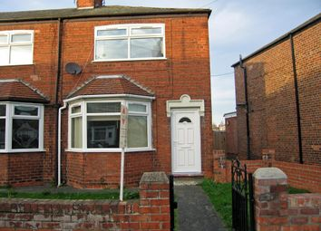Thumbnail 2 bed end terrace house to rent in Seaton Road, Hessle, Hull