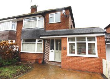 Thumbnail 3 bed semi-detached house for sale in Nursery Road, Cheadle Hulme, Cheadle, Cheshire