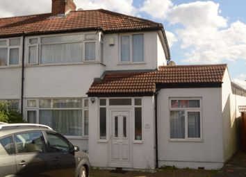 Thumbnail 4 bedroom end terrace house for sale in Gainsborough Gardens, Edgware