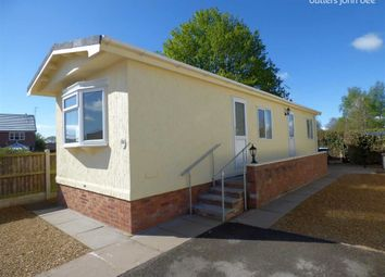 Thumbnail 2 bed mobile/park home for sale in Boothstone Park, Yarnfield Nr Stone, Staffordshire