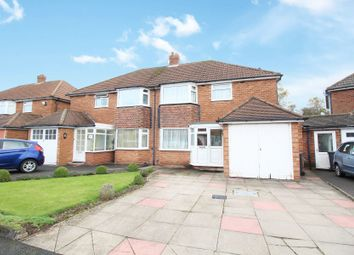 Thumbnail 3 bed semi-detached house for sale in Cambrai Drive, Hall Green, Birmingham