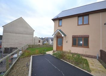 Thumbnail 3 bed semi-detached house to rent in Llys Y Brenin, Whitland