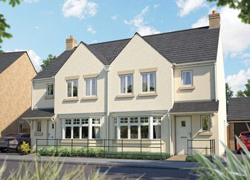 "Thumbnail 3 bed semi-detached house for sale in ""The Epsom"" at Downs Road, Curbridge, Witney, Oxfordshire, Witney"