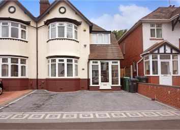 Thumbnail 3 bedroom semi-detached house for sale in Arlington Road, West Bromwich