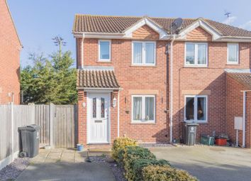 Thumbnail 2 bed semi-detached house for sale in Tokely Road, Frating, Colchester