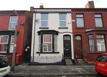Thumbnail 3 bed end terrace house to rent in Rosslyn Street, Aigburth