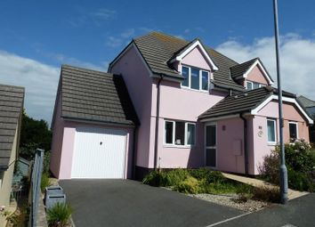 Thumbnail 2 bed semi-detached house for sale in Clover Lane Close, Boscastle