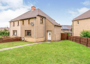 Thumbnail 2 bed semi-detached house for sale in Primrose Crescent, Dalkeith, Midlothian
