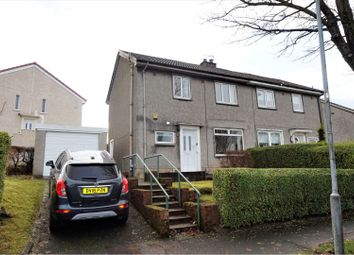 Thumbnail 3 bed semi-detached house for sale in Harelaw Crescent, Paisley
