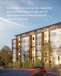 Farnborough Road, Farnborough GU14. Block of flats