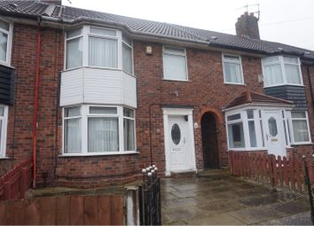 Thumbnail 3 bed terraced house to rent in Lincombe Road, Liverpool
