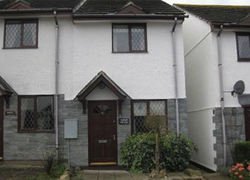 Thumbnail 2 bed end terrace house to rent in Raleigh Close, Padstow