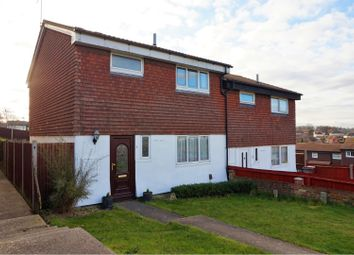 Thumbnail 3 bed semi-detached house for sale in Fisher Road, Chatham