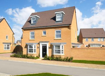 "Thumbnail 4 bed detached house for sale in ""Hertford"" at Carters Lane, Kiln Farm, Milton Keynes"