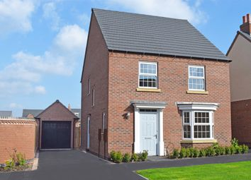 "Thumbnail 3 bedroom detached house for sale in ""Burghley"" at Harbury Lane, Heathcote, Warwick"