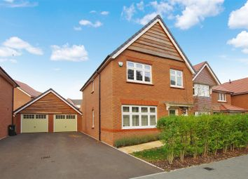 Thumbnail 3 bed detached house for sale in Pythouse Close, Badbury Park, Swindon