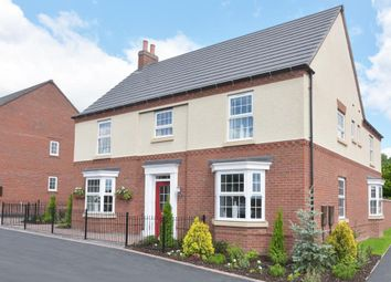"Thumbnail 5 bed detached house for sale in ""Henley"" at Nottingham Road, Barrow Upon Soar, Loughborough"