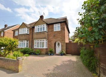 Thumbnail 4 bed semi-detached house for sale in Central Drive, St.Albans