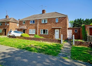 Thumbnail 2 bed semi-detached house for sale in Croyland Road, Peterborough