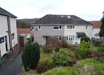 Thumbnail 3 bed semi-detached house to rent in Cefn Lane, Glyncoch, Pontypridd