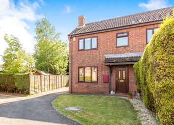 Thumbnail 3 bed semi-detached house for sale in Yarborough Crescent, Broughton, Brigg