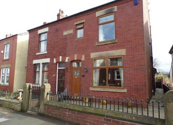 Thumbnail 2 bed semi-detached house for sale in Croston Road, Farington Moss, Leyland