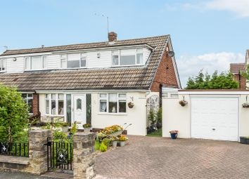 Thumbnail 3 bed semi-detached house for sale in Long Meadowgate, Garforth, Leeds