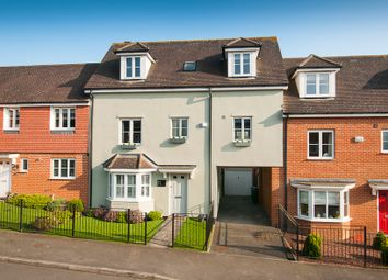 Thumbnail 4 bed town house for sale in Tatchell Drive, Charing