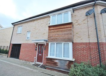 Thumbnail 3 bed end terrace house to rent in Foxglove Way, Cambridge