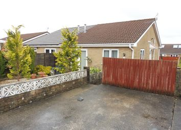Thumbnail 2 bedroom semi-detached bungalow for sale in Monmouth Drive, Castle Park, Merthyr Tydfil