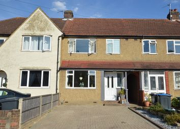 Thumbnail 3 bedroom terraced house for sale in Church Rise, Chessington, Surrey.