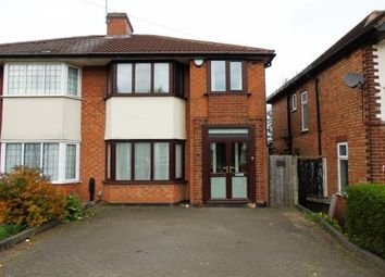 Thumbnail 3 bed semi-detached house to rent in Gibbins Road, Birmingham