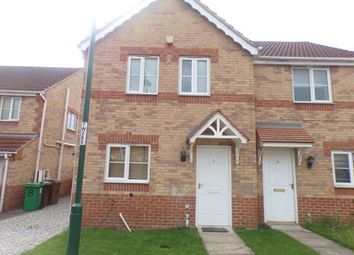 Thumbnail 3 bed semi-detached house for sale in Weave Close, Nottingham, Nottinghamshire