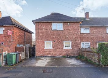 Thumbnail 3 bed end terrace house for sale in Gracedieu Road, Loughborough