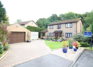 Thumbnail 4 bedroom detached house for sale in Hollowdene Garth, Crook