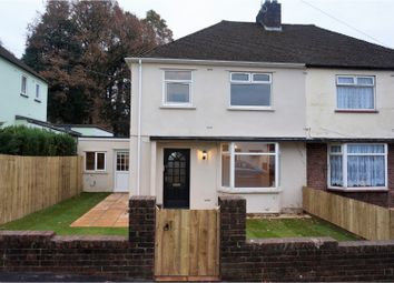 Thumbnail 3 bed semi-detached house for sale in Green Meadow Drive, Cardiff