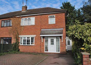 Thumbnail 3 bed semi-detached house for sale in Waytemore Road, Bishop's Stortford, Hertfordshire