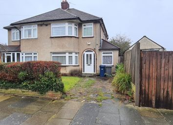 Thumbnail 3 bed semi-detached house for sale in Haslemere Avenue, East Barnet