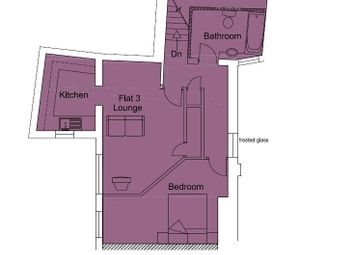 Thumbnail 1 bed flat to rent in Hill Street, Stoke On Trent