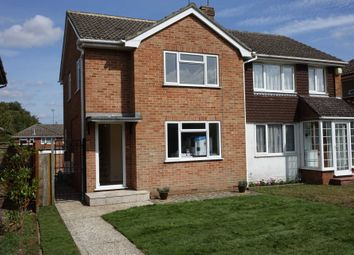 Thumbnail 3 bedroom semi-detached house to rent in Burgess Close, Woodley, Reading