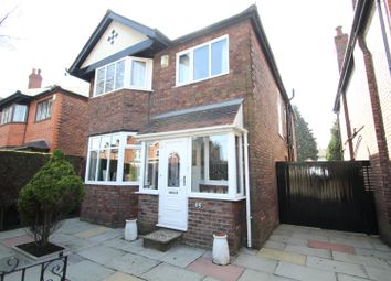 Thumbnail 4 bedroom detached house for sale in Urmston Lane, Stretford, Manchester