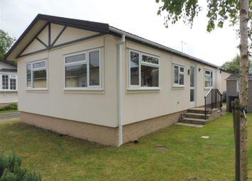 Thumbnail 2 bedroom mobile/park home for sale in Padnal, Littleport, Ely