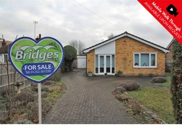 Thumbnail 3 bed bungalow for sale in Hurlands Close, Farnham, Surrey