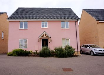 Thumbnail 4 bedroom detached house for sale in Swallows Close, Woodbridge