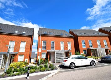 Thumbnail 4 bed semi-detached house to rent in Burroughs Drive, Dartford