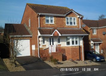 Thumbnail 3 bedroom detached house to rent in Yallop Way, Honiton