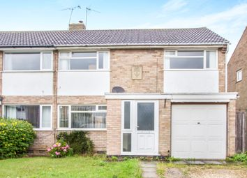 Thumbnail 3 bed semi-detached house for sale in Briar Meads, Oadby, Leicester