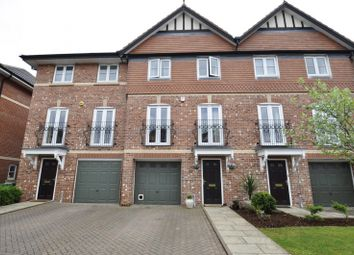 Thumbnail 4 bed terraced house for sale in Lawnhurst Close, Cheadle Hulme, Cheadle