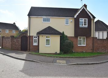 Thumbnail 4 bed detached house for sale in Hayfield, Stevenage, Hertfordshire