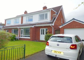 Thumbnail 3 bed semi-detached house to rent in Sharry Drive, Lisburn